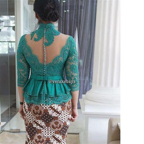 Baju Tangan Panjang Skater backdetail kebaya by vera kebaya fashion kebaya