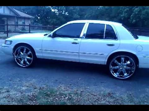grand on 24s 2000 grand marquis on 24s clean