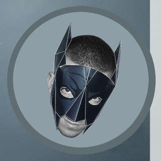 batman mask  printable papercraft templates