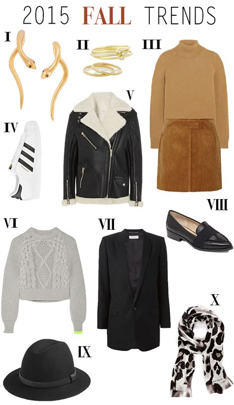 Top 10 Fall Fashion Finds by Top 2015 Wearable Fall Fashion Trends