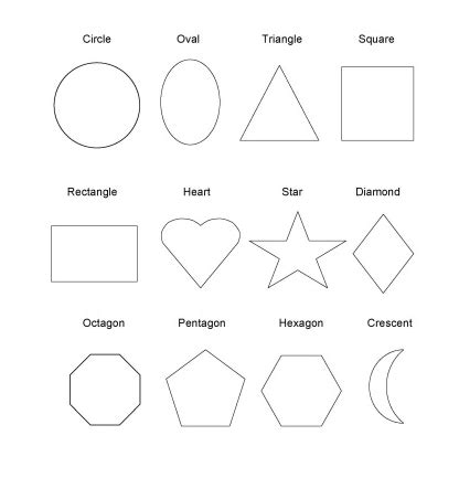 printable shape book templates printable shape coloring pages for preschoolers 1