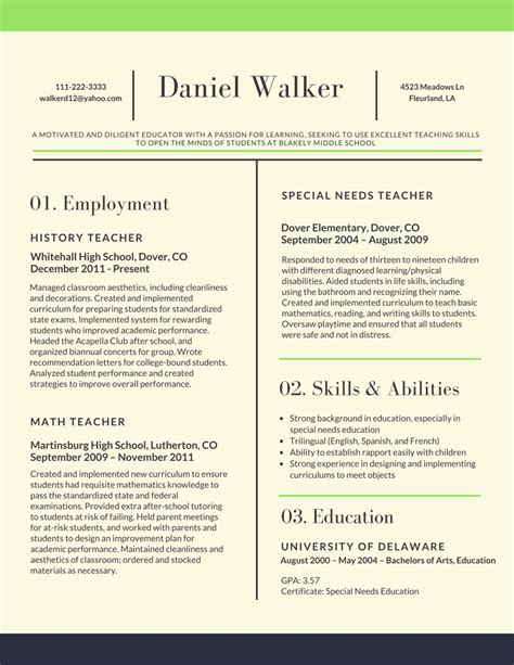 resume sles for teachers 2017 resume 2017 for