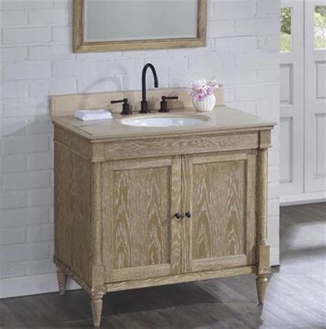 weathered oak bathroom vanity rustic chic 36 quot vanity weathered oak fairmont designs