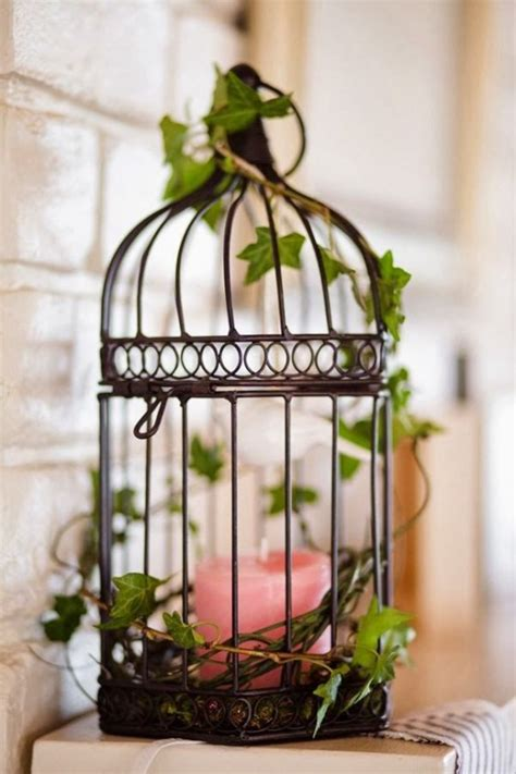 How To Decorate A Birdcage Home Decor | using bird cages for decor 66 beautiful ideas digsdigs