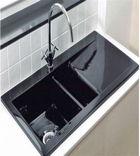 Black Ceramic Kitchen Sinks Home Decor Black Undermount Kitchen Sink Contemporary Highpoint Collection Granite Composite