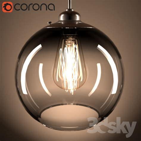 3 bulb light fixture 3d models ceiling light edison bulb pendant light fixture