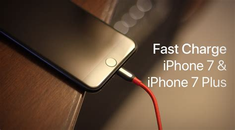 here s how you fast charge iphone 7 iphone 7 plus