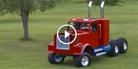trucks kid the best a mini kenworth truck