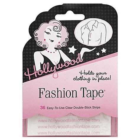 bed bath and beyond hollywood hollywood fashion secrets 174 36 count fashion tape 174 double