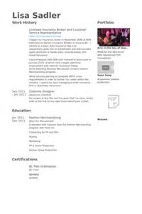insurance broker resume sles visualcv resume sles