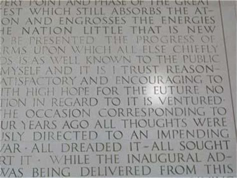 lincoln memorial words lincoln memorial quotes quotesgram