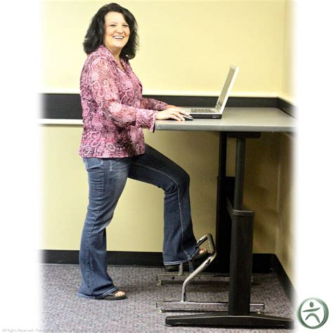 footrest for standing desk stand2learn standing desk footrest shop standing desk footrests