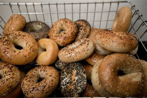 bagels images proper rotary bagel etiquette ken solow rotary
