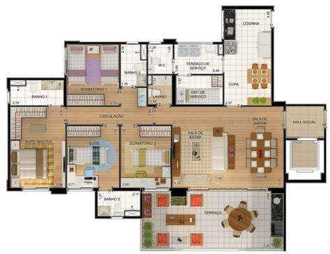10 modelos de plantas de casas churrasqueira