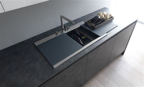 Sink Covers For Kitchens by Modulnova Concept Line Kitchen Sink With The Sliding