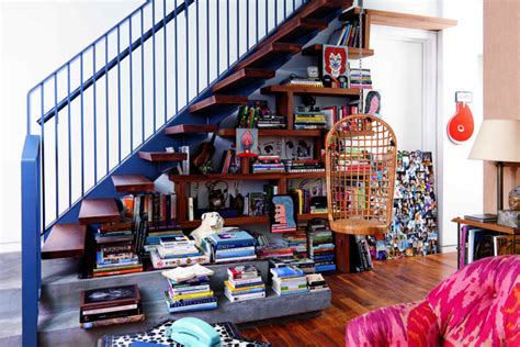 Stairs Storage 7 decorating ideas from the things that matter books