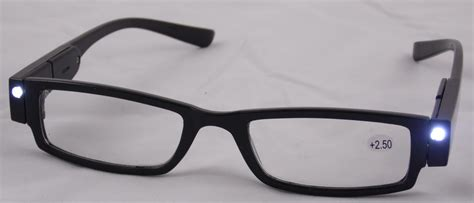 new reading glasses with led light assorted magnification