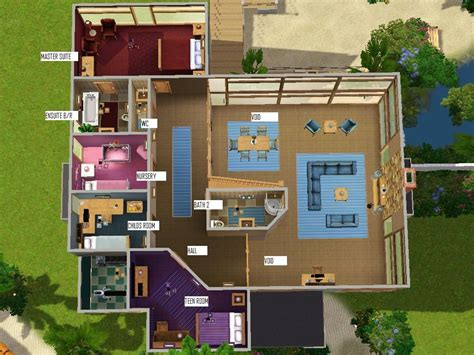 Sims 3 Family House Plans Mod The Sims Watersedge Family Home