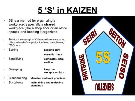 Kaizen Ppt 5 S Powerpoint Presentation