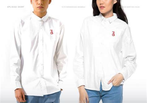 Tshirt Kaos 71th Hut Ri logo hut ri ke 73 vector tanpa iklan