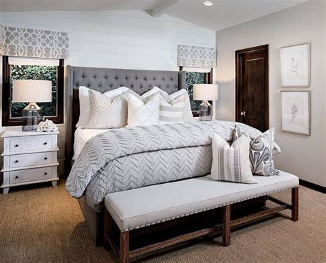 neutral bedroom neutral bedroom with shiplap accent wall neutral bedroom