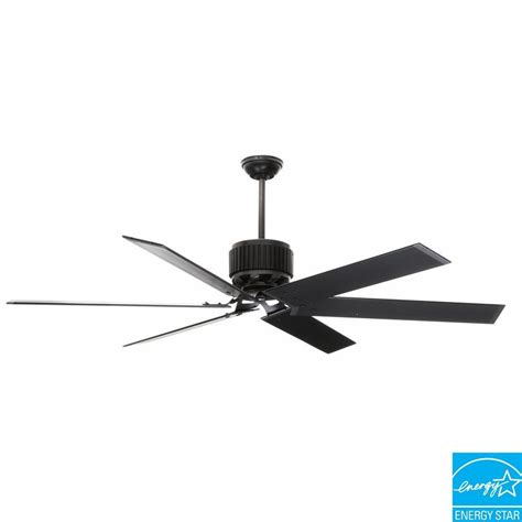Black Outdoor Ceiling Fan With Light Hfc 72 72 In Indoor Outdoor Matte Black Ceiling Fan 59136 The Home Depot