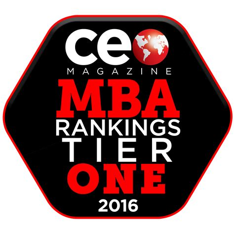 Global Mba Programs 2016 by Mba And Emba Programs Again Earn Tier One Status In