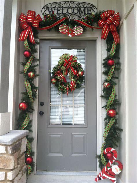christmas door decoration front door christmas