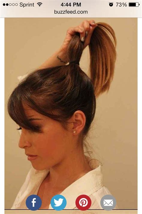 4 styling hacks for girls with thick hair lazy girl hair styling hacks updated musely