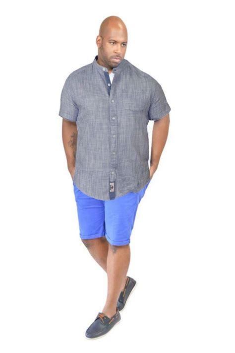 mens shirt grandad king size big sleeve