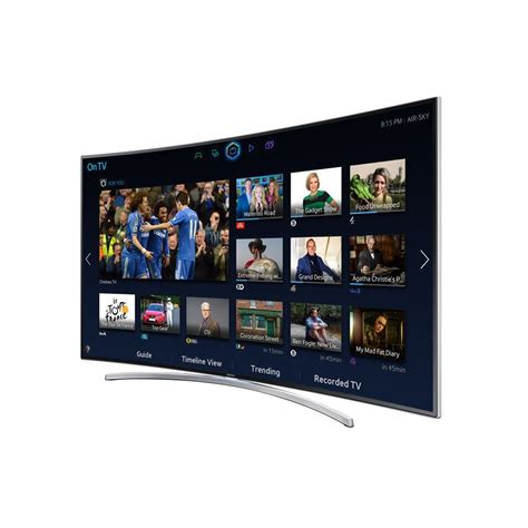 Samsung 65 Curved Tv by Samsung Ue65h8000stxxu 65 Quot Curved Led Tv Samsung From Powerhouse Je Uk