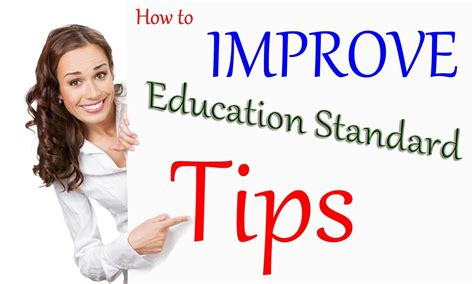 education tips tips and ways to improve education standards 187 tips pk
