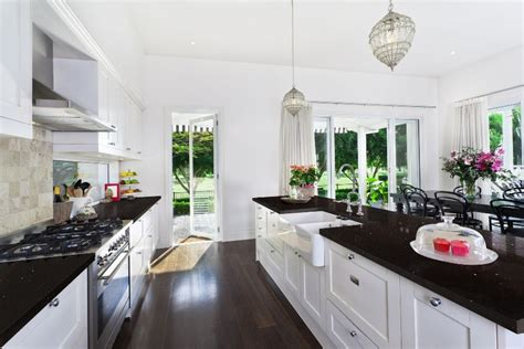 Black Quartz Kitchen Countertops by Sparkling Black Quartz Kitchen Materials Q Premium