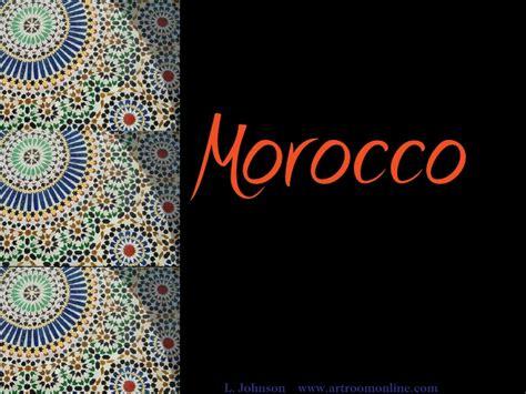 morroccan l morocco
