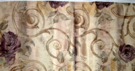 croscill drapes discontinued croscill chambord amethyst purple roses floral bed skirt