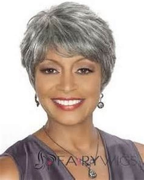 haircuts for thick gray hair short hairstyles for grey hair
