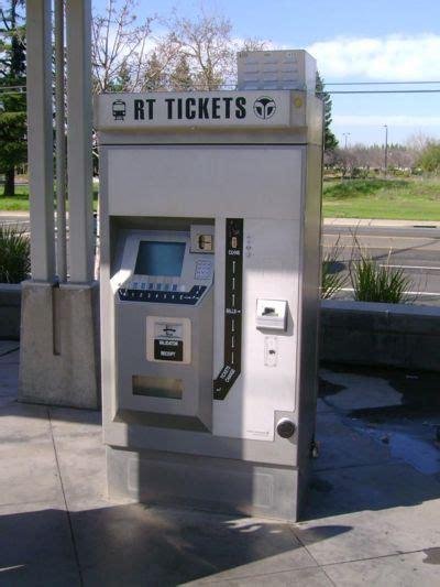 light rail ticket sacramento rt light rail ticket machine transit wiki