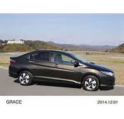 Honda Launches New Grace Hybrid Sedan Based On Fit In