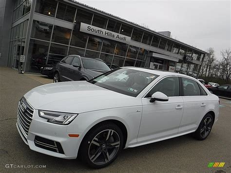 Audi Quattro White by 2017 Glacier White Metallic Audi A4 2 0t Premium Plus