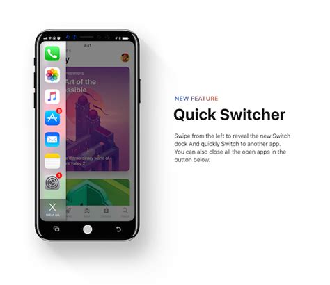 The Apple Switchers Project by Designer Imagines What Ios 12 Would Look Like On Iphone 8