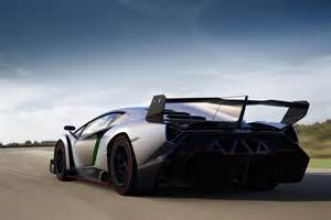 Lamborghini Venneno Lamborghini Veneno And Its Rear Wing Officially