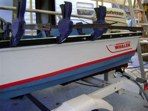 fiberglass boat rub rail 1982 boston whaler new rub rail fiberglass atlanta