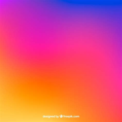 instagram color instagram background in gradient colors vector free