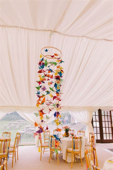 Origami Decorations For Wedding - best 25 origami wedding ideas on origami