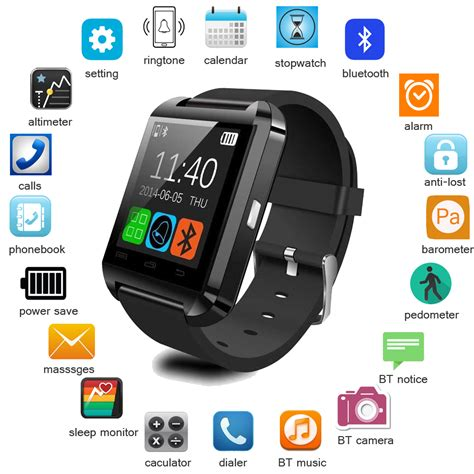 Android Smart X3 Plus Jam Tangan Smartwatch Ios Android Iphone celulares reloj inteligente smartwatch u8