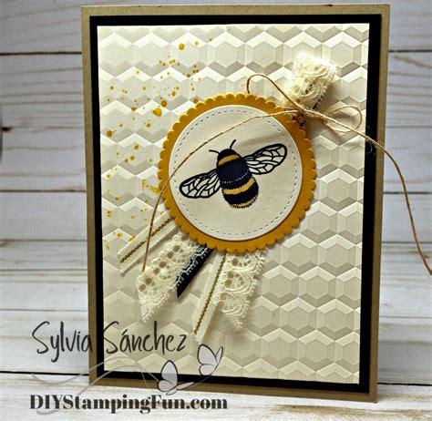 bee cards bumble bee card bye to delightful dijon diy