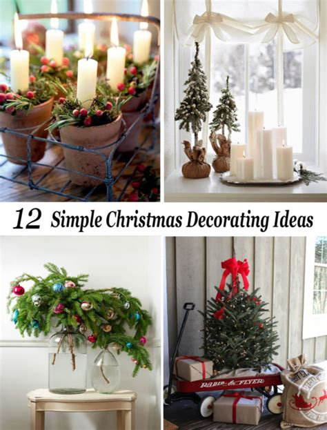 simple christmas home decorating ideas simple christmas decorating ideas the honeycomb home