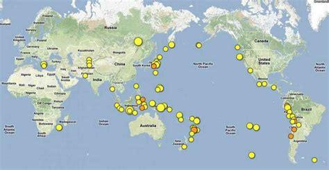 earthquake mp recent earthquake map my blog