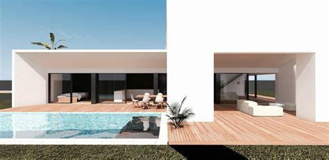 construction d une villa moderne a bordeaux mcc construction - Moderne Sichtschutzzäune