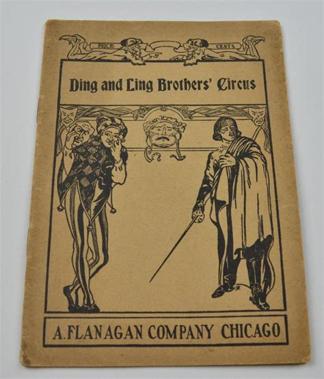 fifteen one act plays vintage ding and ling brother s circus one act play script antique 1919